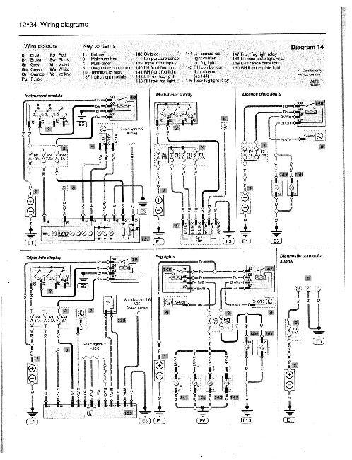 Схемы электрооборудования Opel Corsa с 2000-2003