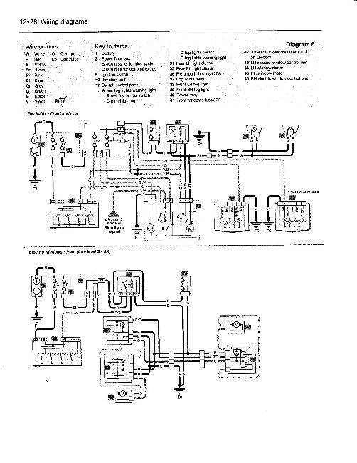 Скачать Электрические схемы Fiat Bravo / Brava 1995-2000.
