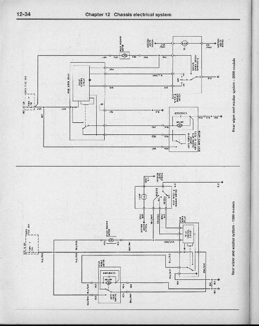 Электрические схемы Hyundai Elantra 1996-2001