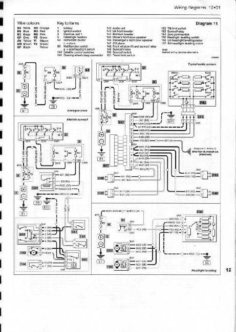 Автомобиль ксара электро схема