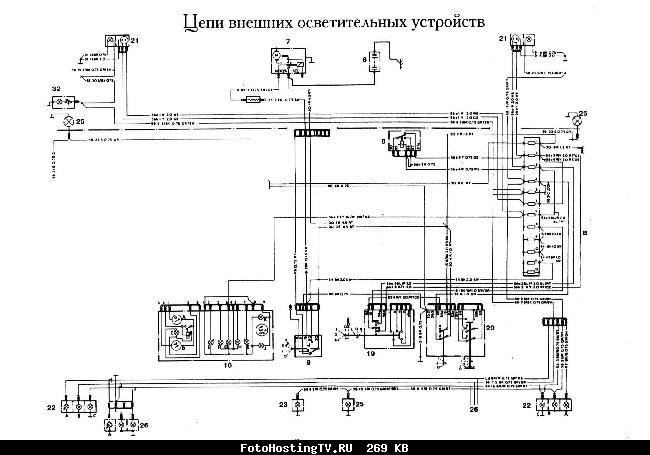 Схемы электрооборудования FORD Granada
