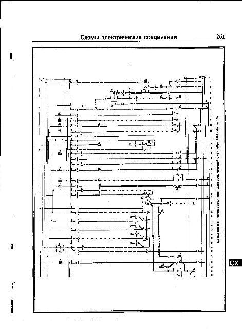 Принципиальные электрические схемы Volkswagen Passat B2 / Santana (1981-1988)