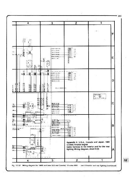 Схемы электрооборудования SAAB 90, 99, 900 (1979-1993)