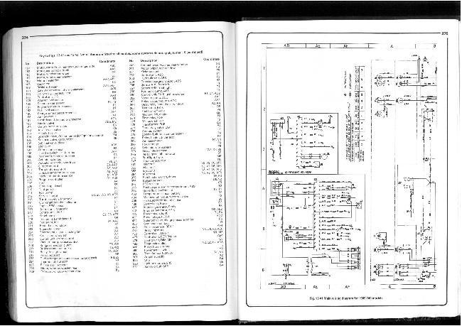 Схемы электрооборудования Volvo 740 и 760 2.0, 2.3, 2.3 турбо, 2.8л