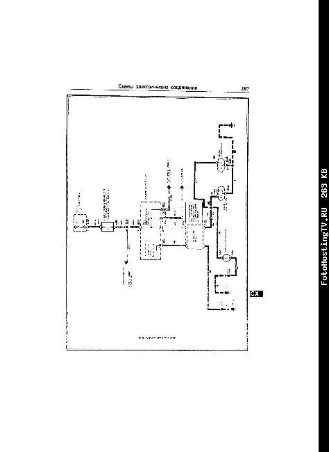 Электрическая схема FORD