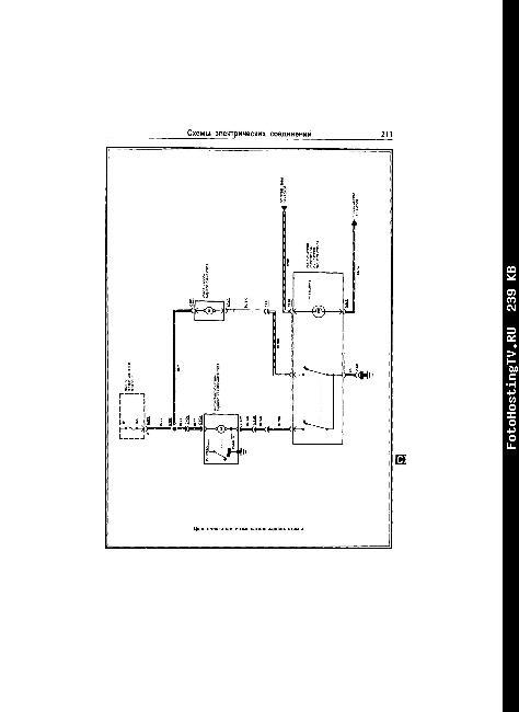 Электрическая схема FORD PROBE