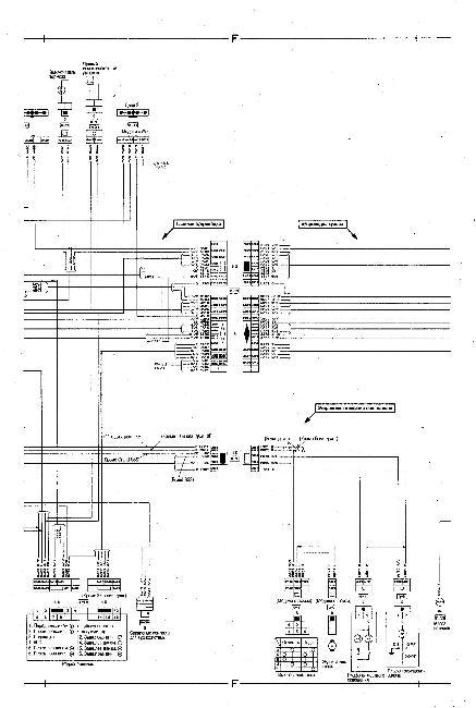 Схемы электрооборудования NISSAN BLUEBIRD 1996-2001, SR18DE, SR18DE (Lean Burn), SR20DE - 1,8, 2,0 л