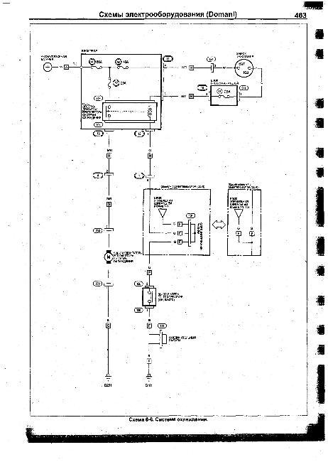 Схемы электрооборудования HONDA Domani 1997-2001