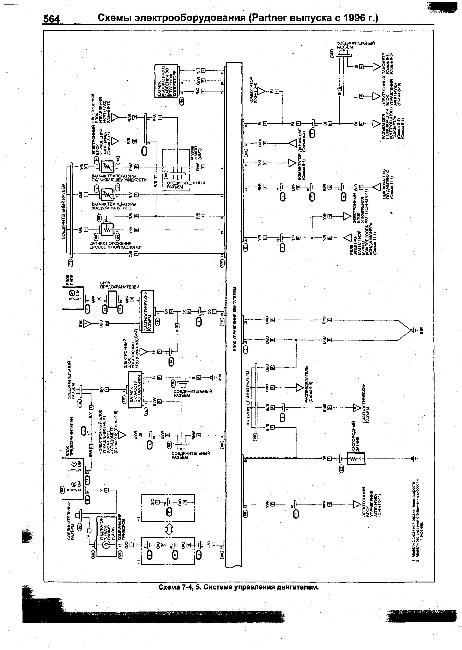 Схемы электрооборудования HONDA Partner с 1996г
