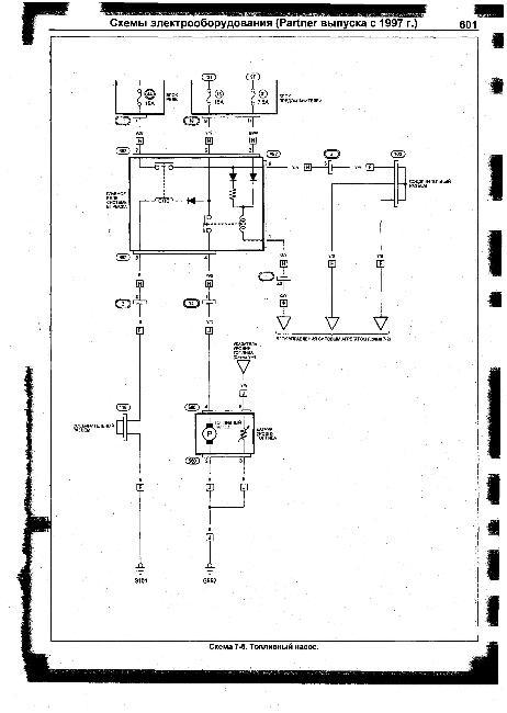 Схемы электрооборудования HONDA Partner с 1997г