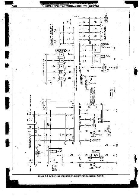 Схемы электрооборудования HONDA Orthia 1996-2002 г