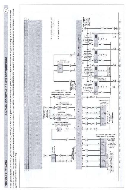Скачать Схемы электрооборудования Skoda Octavia 1996-2002.  Кликните на картинку, чтобы увидеть полноразмерную версию.