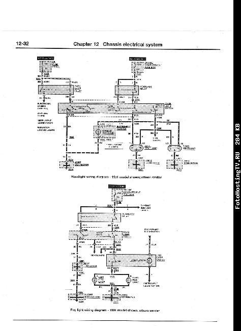схема электрооборудования форд эскорт
