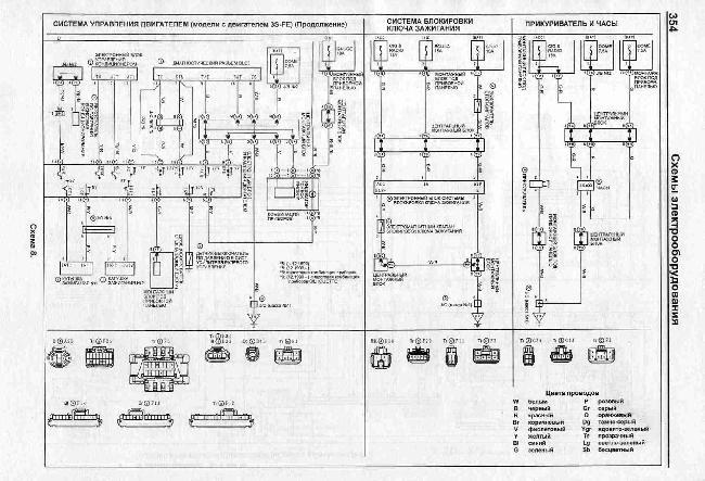 Электро схема машины калдина