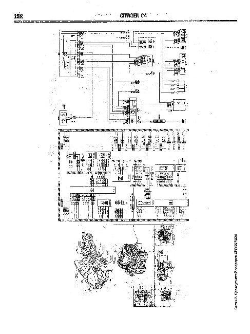 Схемы электрооборудования Citroen C4 с 2004г