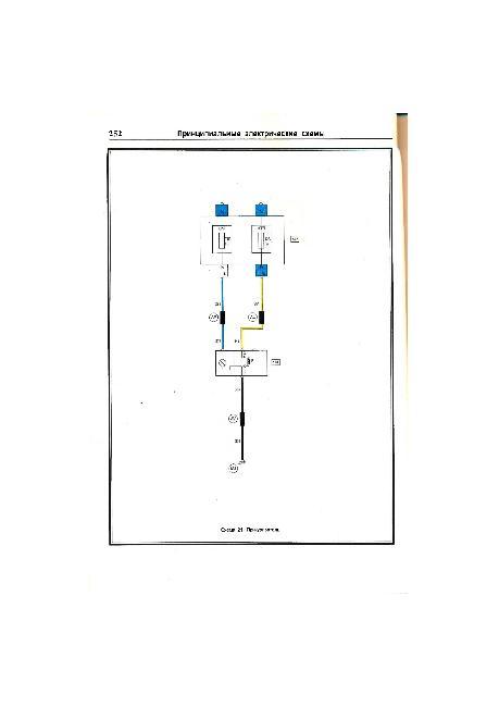 Цветные схемы электрооборудования Renault Megane / Scenic 1999-2003 г.