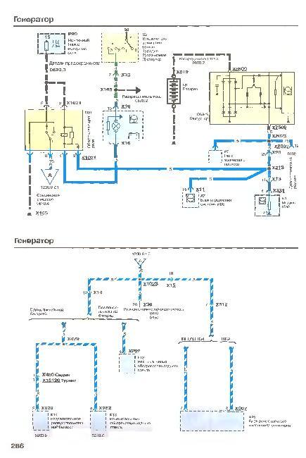 Схемы электрооборудования автомобиля BMW 5 серии 1987-1995 г.