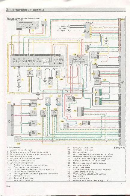Схемы электрооборудования CITROEN XSARA PICASSO с 2000