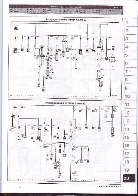 Схемы электрооборудования Renault Master / Opel Movano / Nissan NV400