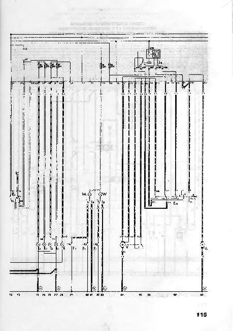 Схемы электрооборудования Volkswagen LT 28, 31, 35, 40, 45, 50, 55 (1975-1995 гг)