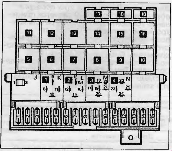 Схема предохранителей фольксваген lt 28.