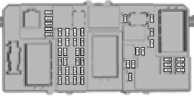 Схема предохранителей форд фокус 2 рестайлинг вентилятор