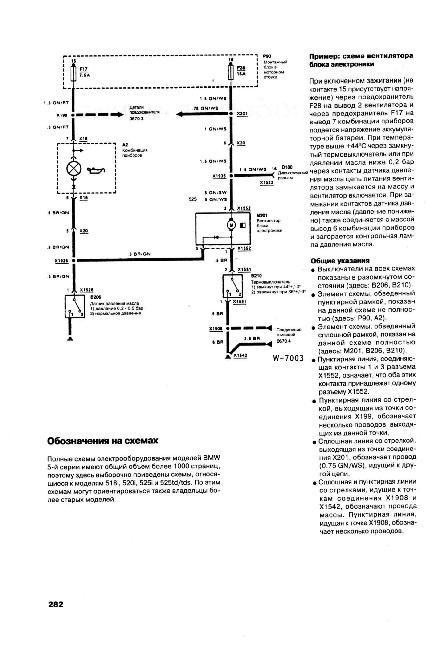 BMW 5 (Е34) Схемы