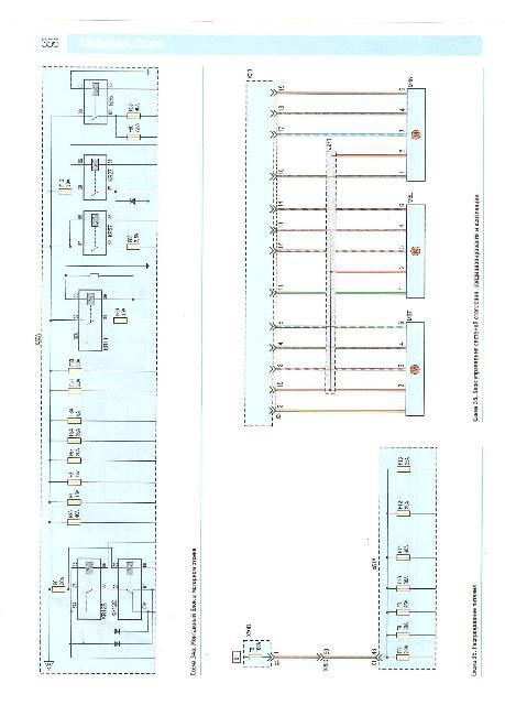 Цветные схемы электрооборудования Chevrolet Cruze