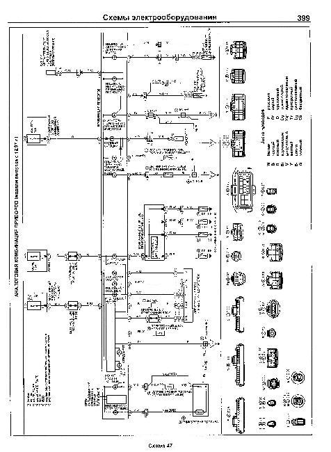 Схемы электрооборудования toyota corona premio