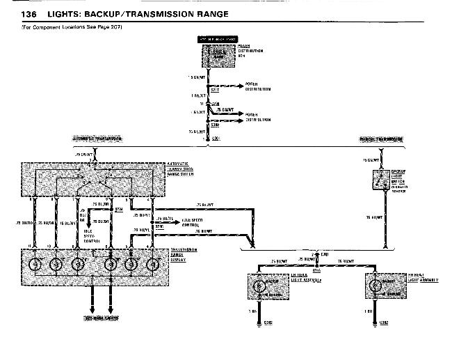 Схемы электрооборудования BMW 7 (E23) 1982