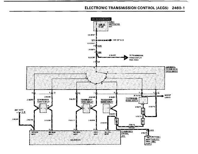 Схемы электрооборудования BMW 6 серии (e24) (635 CSi, 633CSi, L6, M6) 1983-1989