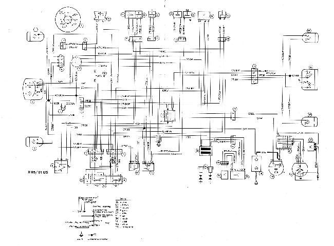 Схема электрооборудования мотоцикла BMW R65 и R65LS (1981 ...: http://knigaproavto.ru/shemy/moto/606-shema-elektrooborudovaniya-motocikla-bmw-r65-i-r65ls-1981-r80st-r45.html