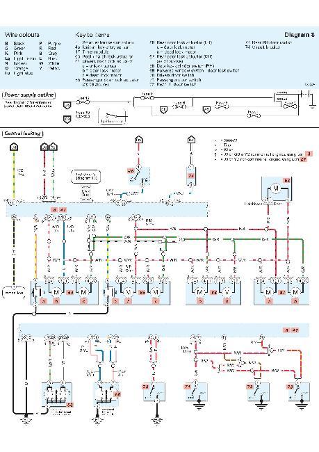 Цветные схемы электрооборудования Nissan Tino / Almera 2000-2007
