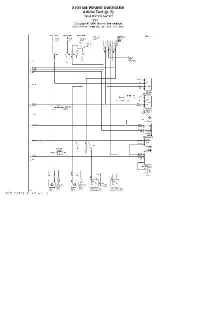 Скачать Схемы электрооборудования HONDA Accord 1994.