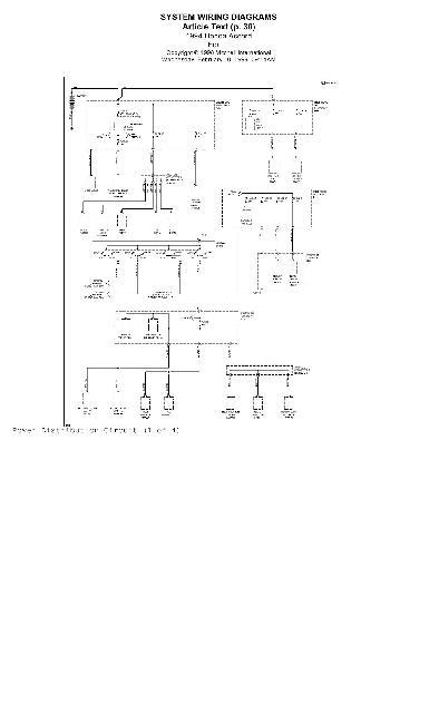 Схемы электрооборудования HONDA Accord 1994