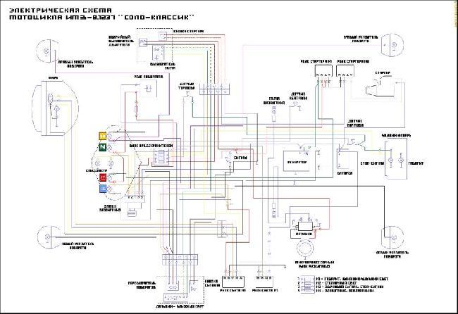 Электросхема генератора 5
