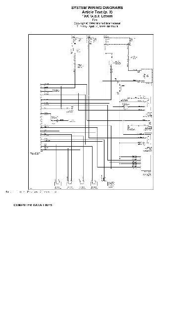 Электрические схемы автомобиля саманд