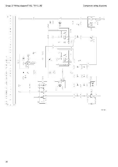 Схемы электрооборудования грузовых автомобилий Volvo FH12, FH16 LHD