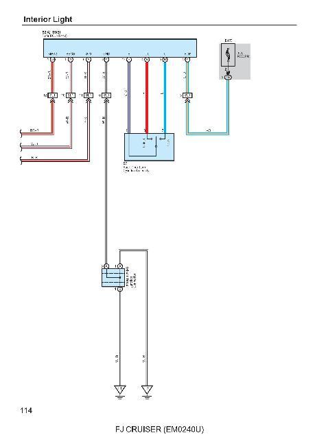 Руководство по электрическому оборудованию Toyota FJ Cruiser