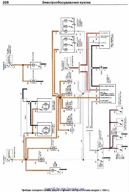 Цветные схемы электрооборудования Chevrolet Tahoe, Suburban, Blazer, Pick-Up / GMC Yukon, Jimmy, Pick-Up