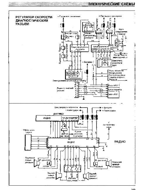 рено симбол схема проводки