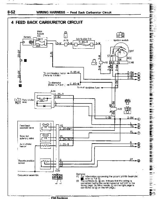Электрические схемы Mitsubishi