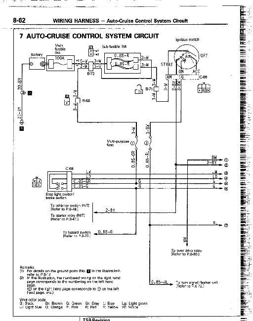 pajero электрические схемы