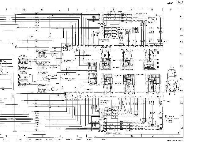 Схемы электрооборудования Porsche 928 GTS (1993)