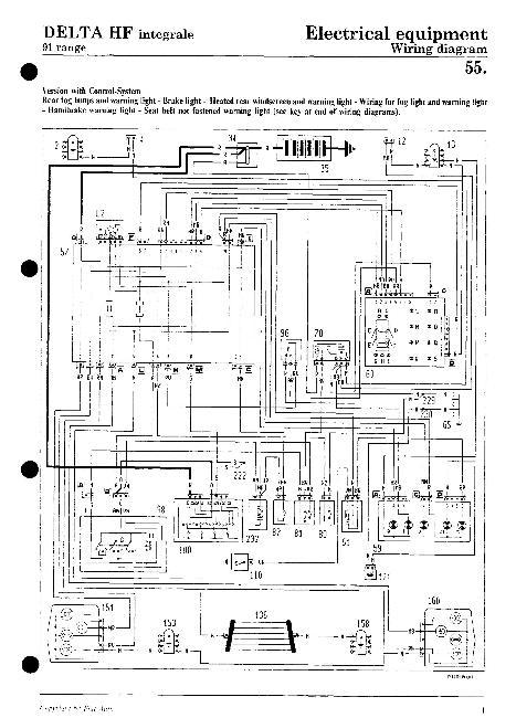 Электрические схемы Lancia
