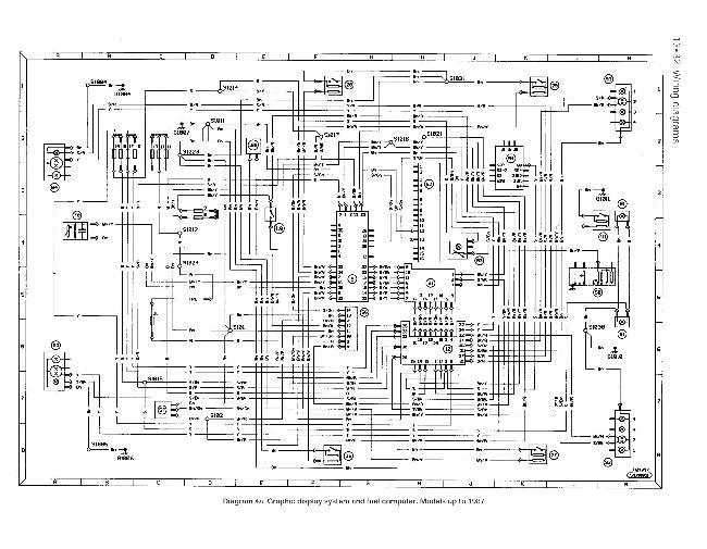 схемы Ford Sierra до 1987
