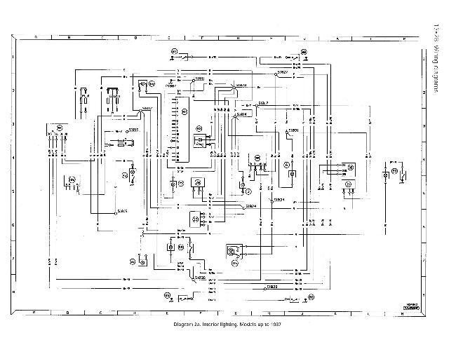 1987 Электрические схемы
