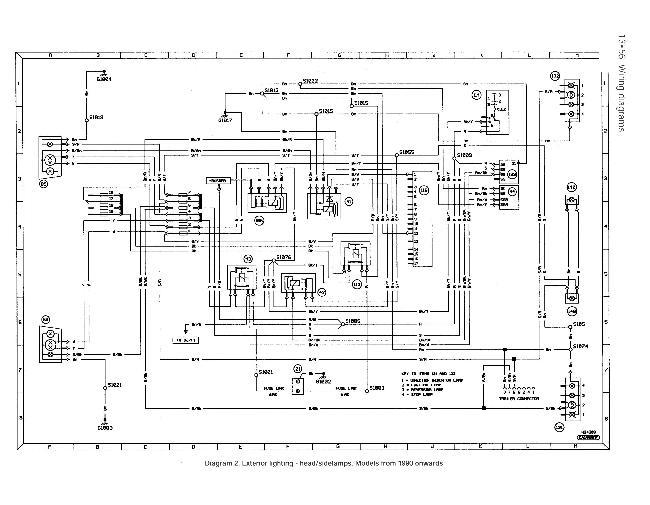 Схемы электрооборудования Ford Sierra с 1990