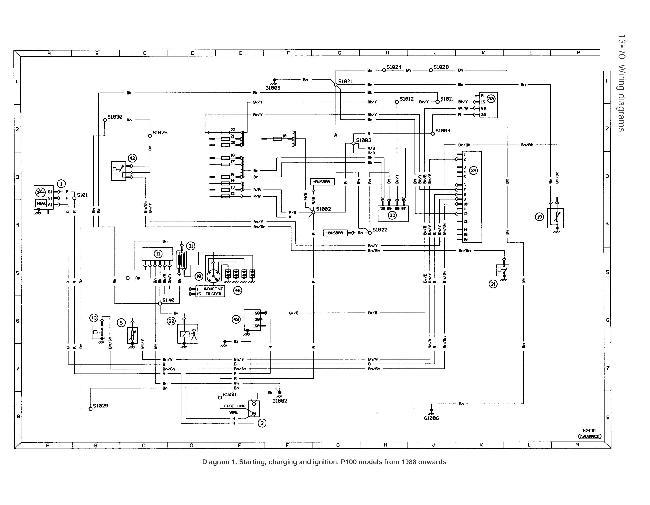 Схемы электрооборудования Ford P 100