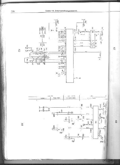 Схемы электрооборудования Renault 25 (J7T, Z7V)